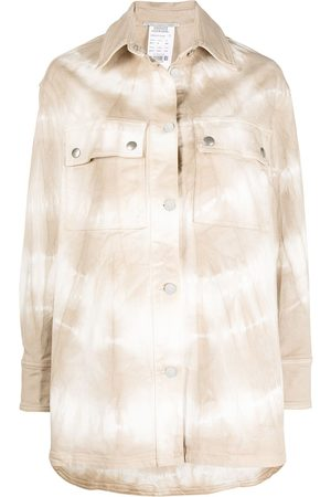 Stella McCartney Oversized-Jeansjacke - Nude