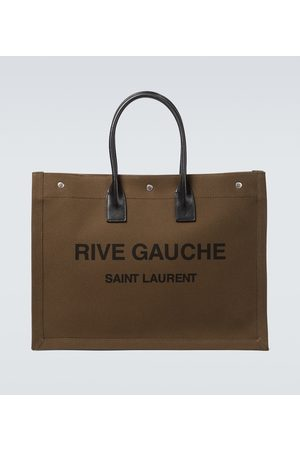 Saint Laurent Tote Bag Rive Gauche aus Canvas