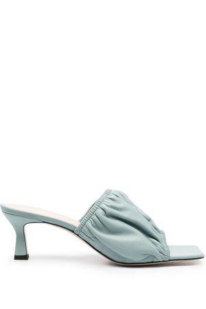 Wandler Slip-on leather sandals
