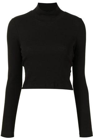 ROSETTA GETTY Pullover mit Stehkragen