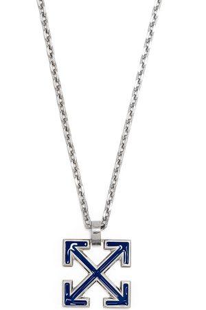 OFF-WHITE Halskette mit emailliertem Arrows-Anhänger