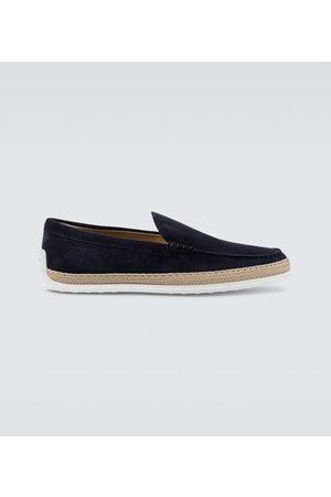 Tod's Sneakers - Slip-on Loafers aus Veloursleder