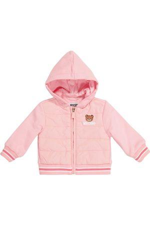 Moschino Baby Jacke aus Baumwolle