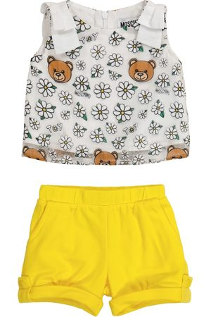 Moschino Kids Baby Outfit Sets - Baby Set aus Top und Shorts