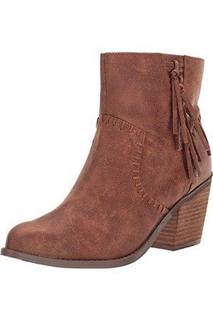 Not Rated Zaine High Heel Tassle Bootie in