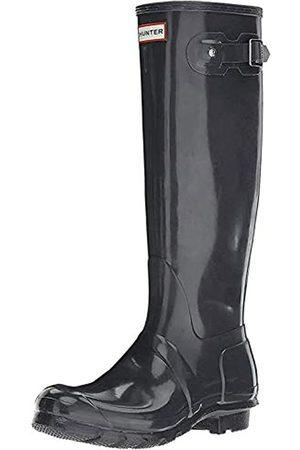 Hunter Damen High Wellington Boots Gummistiefel, (Grey DSL)