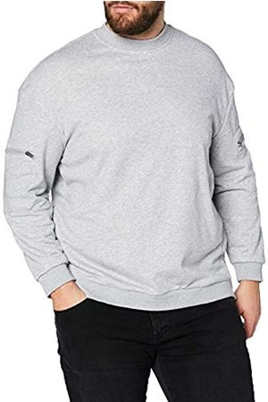 Urban classics Herren Training Terry Crew Sweatshirt