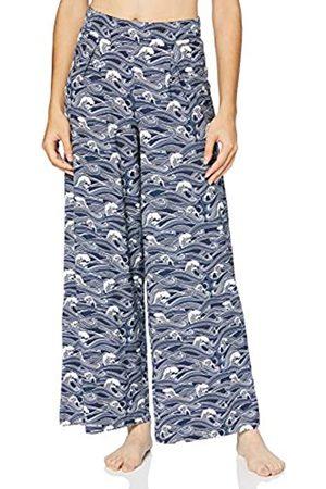 Skiny Damen Lange Hosen - Damen Hose lang Pyjamaunterteil