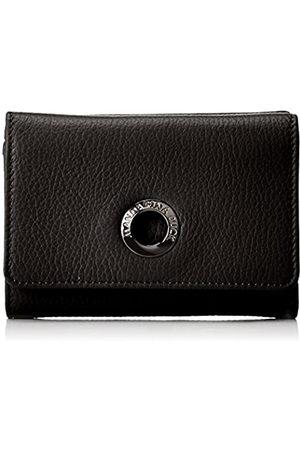Mandarina Duck Damen Mellow Leather Portafoglio Geldbörsen, (Nero)