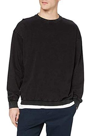 Urban classics Herren Acid Washed Big Crew Sweatshirts