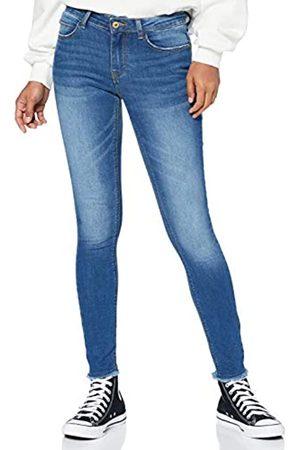 JDY Damen Skinny - Damen SONJA Life REG Skinny ANK MB DNM NOOS Jeans