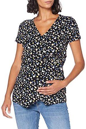 Mama Licious Damen MLTINNA TESS S/S WRAP Jersey TOP NF A. T-Shirt