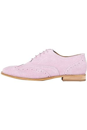 FIND FIND Leather Brogues, Pink (Winsome Orchid)