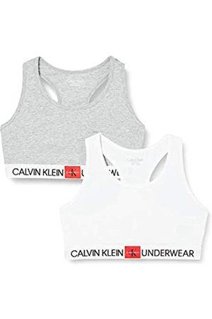 Calvin Klein Calvin Klein Unisex-Kinder 2pk Bralette Unterwäsche