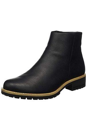 Ecco Damen Elaine Rudo Spider Chelsea Boot, (Black)