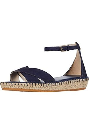 Cole Haan Damen CLOUDFEEL Espadrille Anklestrap Sandale, Mehrfarbig Jute Wrp/Gum Os/Ch Logo Stud/Gld Hw
