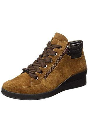 ARA Damen Lazio Sneaker, NUSS,Moro-METALLIC
