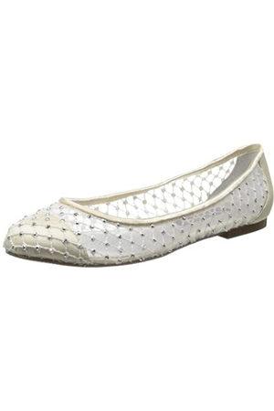 NINA Pauline YS Damen Ballerinas, Weiß (elfenbeinfarben)