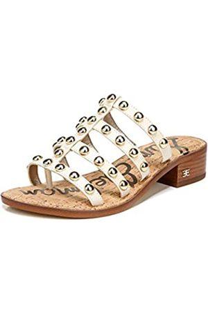 Sam Edelman Damen-Sandale mit Absatz, Juniper, Weiá (Modernes Elfenbein)
