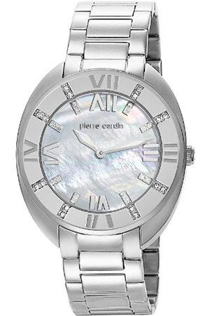 Pierre Cardin Pierre Cardin Damen-Armbanduhr Levant Grande Analog Quarz Edelstahl PC105272F07