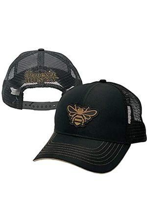 Jack Daniel's Offizielle Tennessee Honey Bee Cap – atmungsaktives schwarzes Mesh Snapback für den Sommer – verstellbar