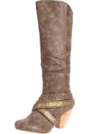 Not Rated Damen Avalon Kniehohe Stiefel, (taupe)