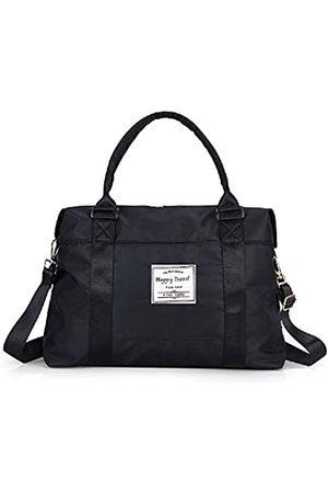 AUSTARK AUSTARK Sporttasche Reisetasche Weekender Gym Tote Bag Große Nylon Übernachtung Schultertasche mit Trolleyhülle und Nasstasche für Damen Herren