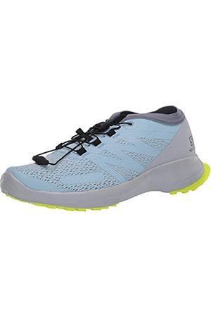 Salomon Damen Shoes Sense Flow Laufschuhe, (Angel Falls/Pearl Blue/Safety Yello)