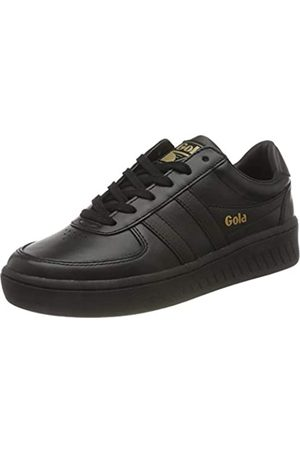Gola Damen Grandslam Leather Sneaker, Black/Black/Black