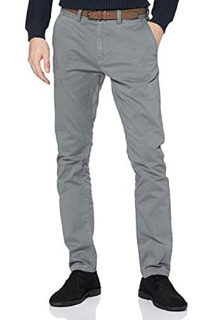 TOM TAILOR Herren Travis Slim Chino, 25356-Grey Navy Minimal Design