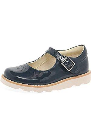 Clarks Mädchen Schuhe, (Navy Patent)