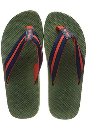 flip*flop Unisex Tex Comfy Sandale, Olive/Deep Night