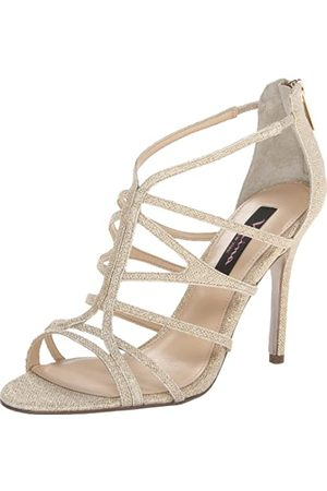 NINA Marisol GM Gladiator-Sandalen für Damen, Gold (champagnerfarben)