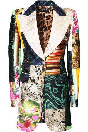 Dolce & Gabbana Patchwork-jacke Mit Jjacquard