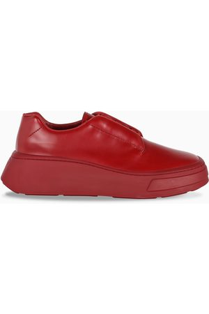 Prada Red derby shoes