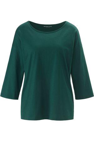 Green Cotton Damen Shirts - Shirt