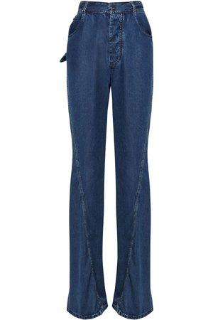 Bottega Veneta Jeans Aus Baumwolldenim Mit Gerade Bein