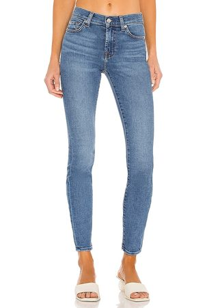 7 For All Mankind Die Skinny-Jeans in . Size 24, 25, 26, 27, 28, 29, 30, 31, 32.