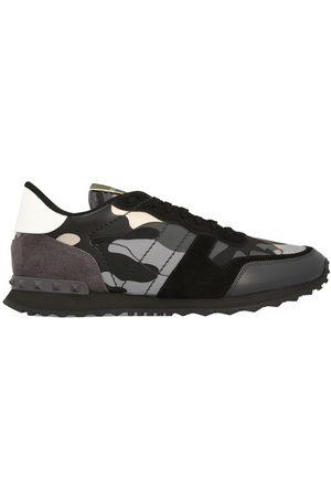 VALENTINO Herren Sneakers - Camouflage-Sneakers Rockrunner