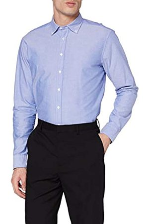Seidensticker Seidensticker Herren Modern Langarm mit Button-Down Kragen Soft Uni Smart Business Businesshemd