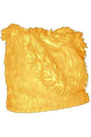 CHC-Beverly Hills Unisex-Erwachsene Luxurious Signature Fluffy Fur Weekender Bag Bright-yellow Large Übernachtung Duffel
