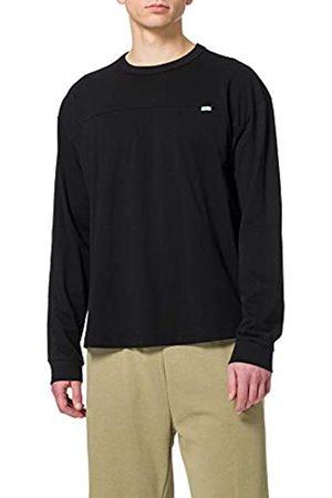 Urban classics Herren Organic Cotton Short Curved Oversized Ls T Shirt