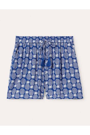 Boden Damen Shorts - Bembridge Shorts Blue Damen