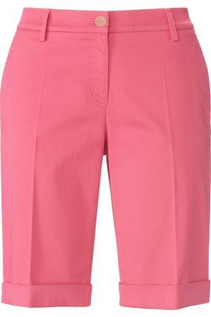 Brax Damen Bermudas - Slim Fit-Bermuda Modell Mia B. pink