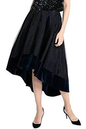 Apart APART eleganter Damen Rock, Glamour, Vokuhila Style, mit Samt-Saum