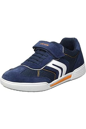 Geox Geox Baby-Jungen J POSEIDO Boy C Sneaker, Navy/LT ORANGE