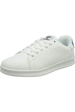 Hummel Unisex-Erwachsene BUSAN Sneaker, White/Faded Denim