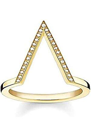 Thomas Sabo Thomas Sabo Damen-Ring Glam & Soul 925 Silber Diamant (0.05 ct) weiß Gr. 56 (17.8) - D_TR0020-924-14-56