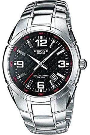 Casio Edifice Herren Massives Edelstahlgehäuse und Edelstahlarmband Uhrenarmband EF-125D-1AVEG