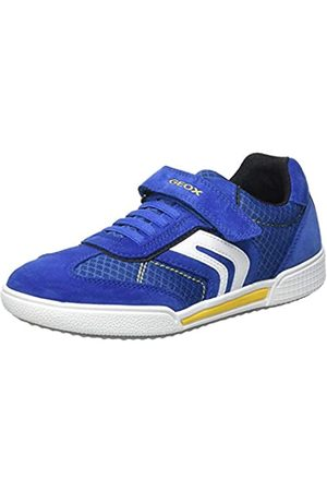 Geox Geox J POSEIDO Boy C Sneaker, ROYAL/Yellow